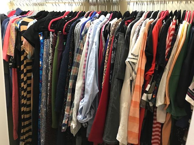 Capsule My Closet: Day1
